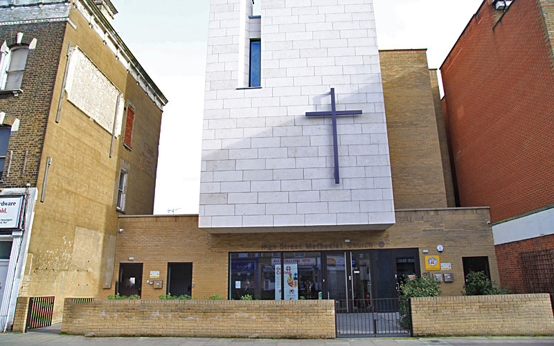 High Street Methodist Church, Hackney, London