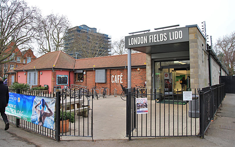 London Fields Lido, Hackney, London