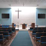 Stoke Newington High Street church interior